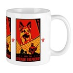 Obey the German Shepherd! coffee Mug