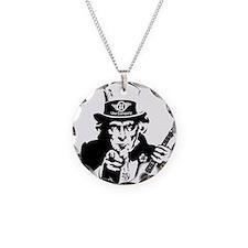 I WANT UKE 2 Necklace Circle Charm