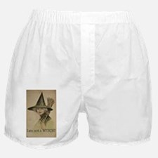 I am not a WITCH! Boxer Shorts