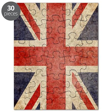 UK Faded Kindle Puzzle