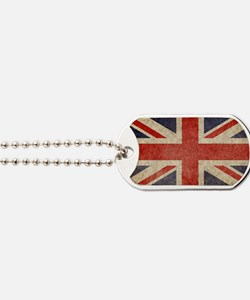 Faded UK Beach Dog Tags