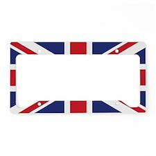 UK Flag Beach License Plate Holder