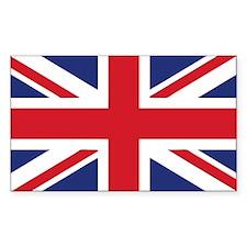 UK Flag Beach Decal