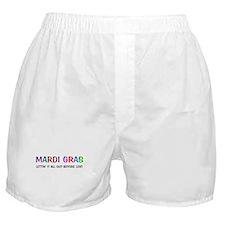 Mardi Gras Lent Boxer Shorts