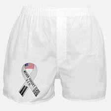 911-Ribbon-Sticker Boxer Shorts