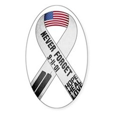 911-Ribbon-Sticker Decal