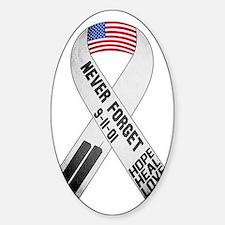 911-Ribbon-Sticker Decal