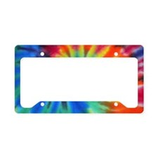Blue Spiral Toiletry License Plate Holder