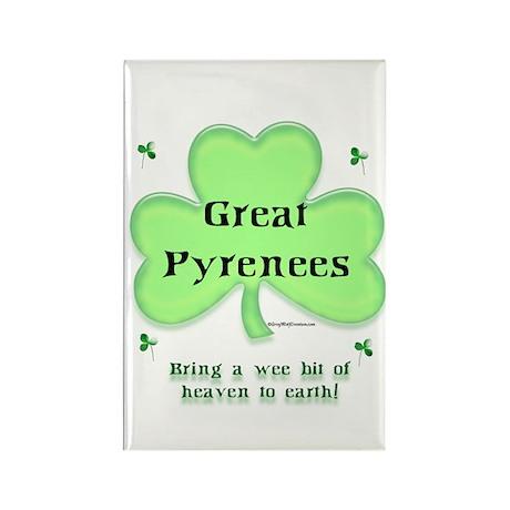 Pyrenees Heaven Rectangle Magnet