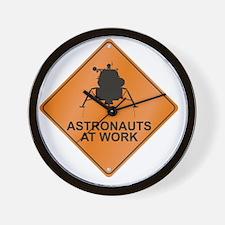 LM_Astronauts_Work_RK2011_10x10 Wall Clock