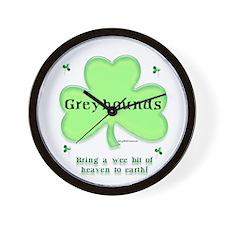 Greyhound Heaven Wall Clock