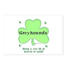 Greyhound Heaven Postcards (Package of 8)