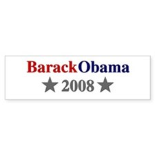 ::: Barack Obama - Simple ::: Bumper Bumper Sticker