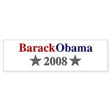 ::: Barack Obama - Simple ::: Bumper Car Sticker