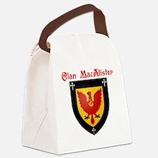 Dog T-Shirt Canvas Lunch Bag