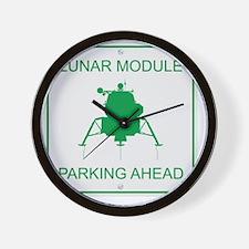 LM_Parking_RK2011_10x10 Wall Clock