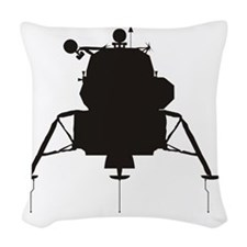 LM_silhouette_RK2011_10x10 Woven Throw Pillow