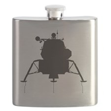 LM_silhouette_RK2011_10x10 Flask