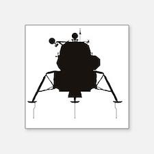 "LM_silhouette_RK2011_10x10 Square Sticker 3"" x 3"""