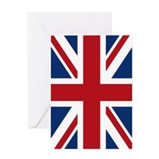 union-jack_18x12-5 Greeting Card