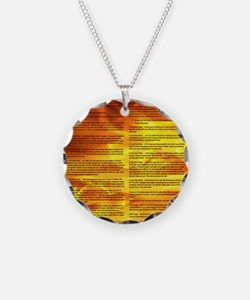 A World With CRPS - Memo Sty Necklace