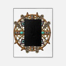 Beads and Arrows Mandala Picture Frame