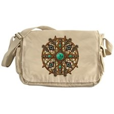 Beads and Arrows Mandala Messenger Bag