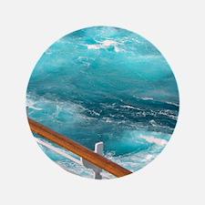 """CruiseShipWake 3.5"""" Button"""