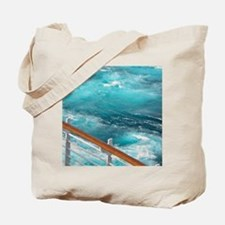 CruiseShipWake Tote Bag
