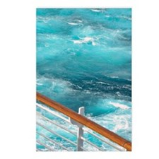 CruiseShipWake Postcards (Package of 8)