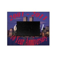 10 year anni wtc Picture Frame