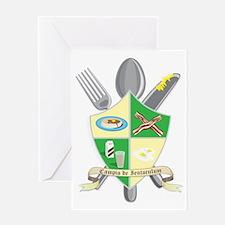 Champion of Breakfast2 Greeting Card
