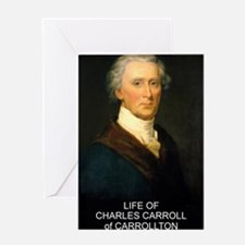 CHarles Carroll front cover 04 Greeting Card