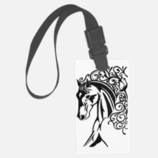 Graphic Horse Luggage Tag