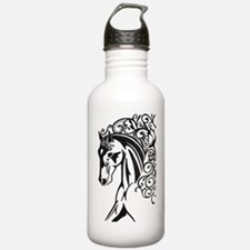 Graphic Horse Water Bottle