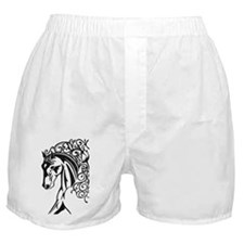 Graphic Horse Boxer Shorts
