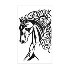 Graphic Horse Decal