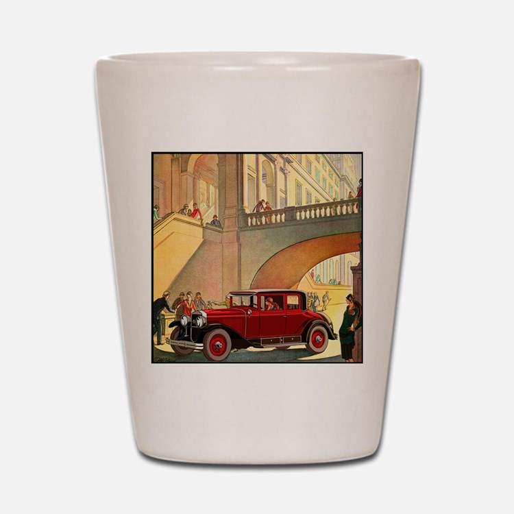 1928 Cadillac-10 Shot Glass