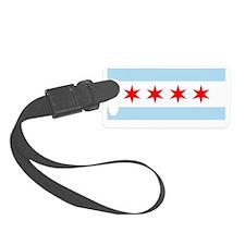 Chicago Flag Clutch Wallet Purse Luggage Tag