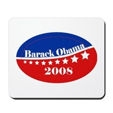 eej Obama red/blue star Mousepad