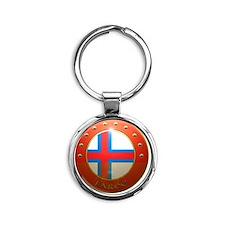 faroe badge PNG Round Keychain