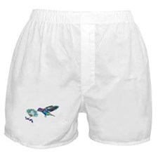 NEON HUMMINGBIRD Boxer Shorts