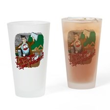 male super teacher french Drinking Glass