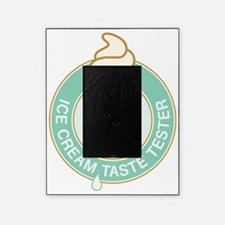 ice cream tester mint Picture Frame