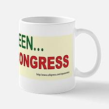 Go Green Recycle Congress ! Mug
