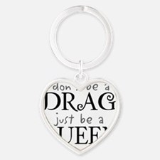 dragqueen Heart Keychain