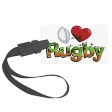 Rugby Luggage Tag