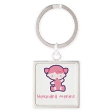 LittleSister_sit_Spanish Square Keychain