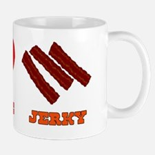 Peace Love Jerky Mug
