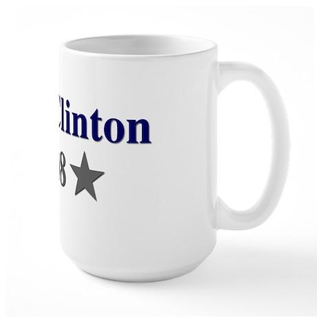 ::: Hillary Clinton - Simple ::: Large Mug